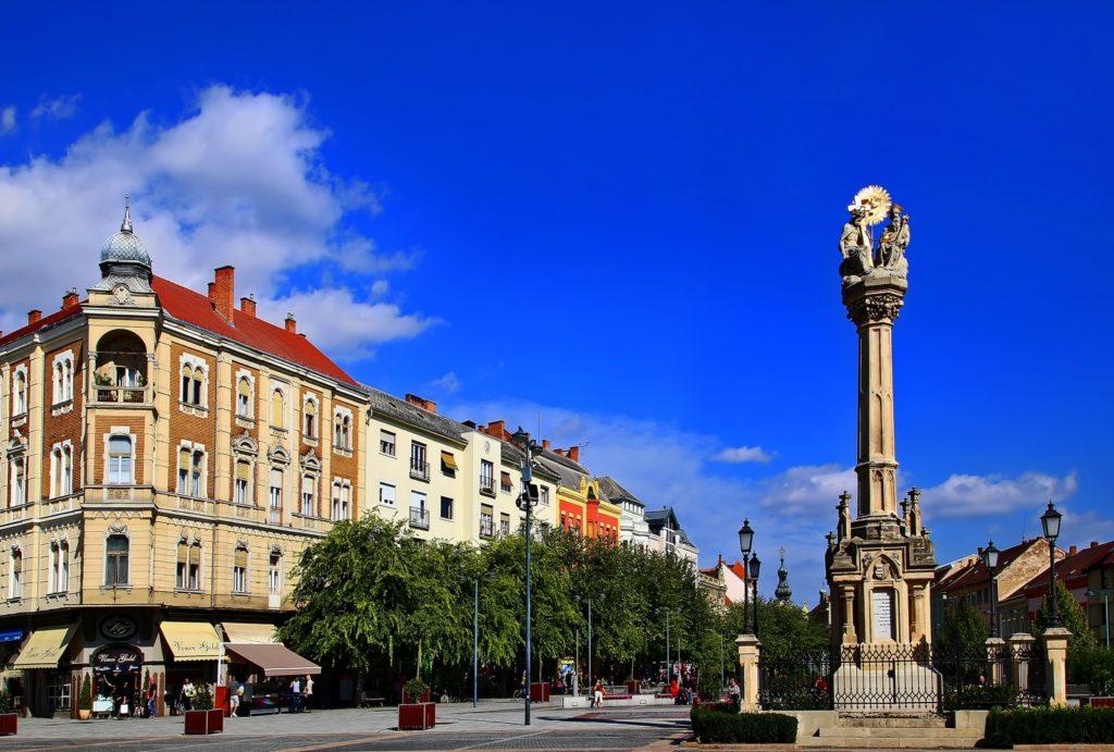 Szombathely Fő téri Szentháromság szobor