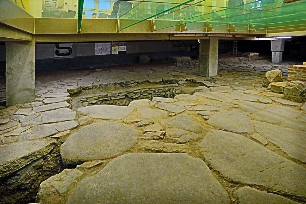Szombathely Fő téri római kori lelet
